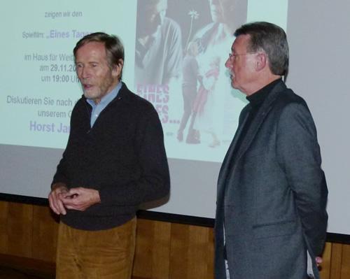 Filmabend mit dem Schauspieler Horst Janson am 29.11.2013