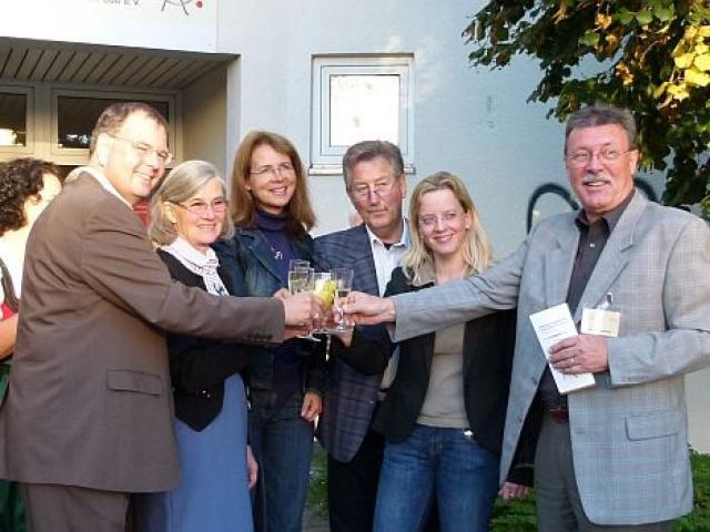 Eröffnung der Geschäftsstelle Alzheimer Gesellschaft Landkreis München Süd e.V. am 21. September 2010