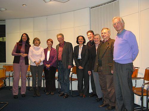 Vereinsgründung der Alzheimer-Gesellschaft Landkreis München Süd e.V. am 15.01.2010 in Unterhaching