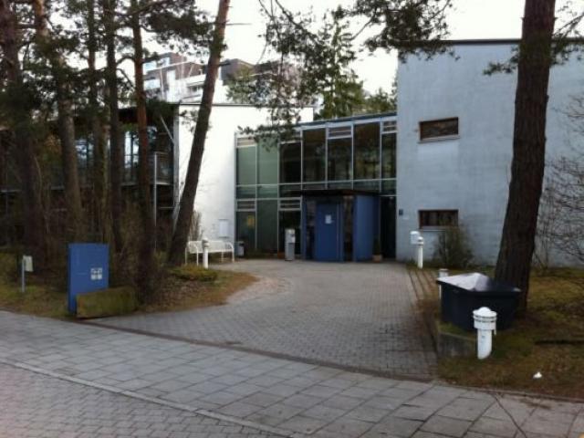 Der Eingang zur Wohngemeinschaft Ottobrunn